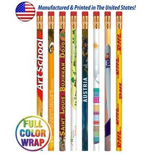 Full Color Wrap Pencil High Quality